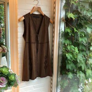 Like new Zara faux suede vest